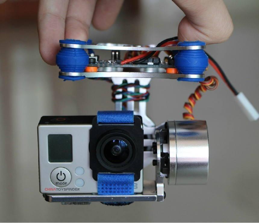 Стедикам (стабилизатор) для квадрокоптера своими руками
