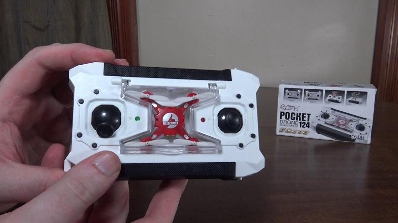 Квадрокоптер FQ777-124 Pocket Drone: обзор, характеристики, цена