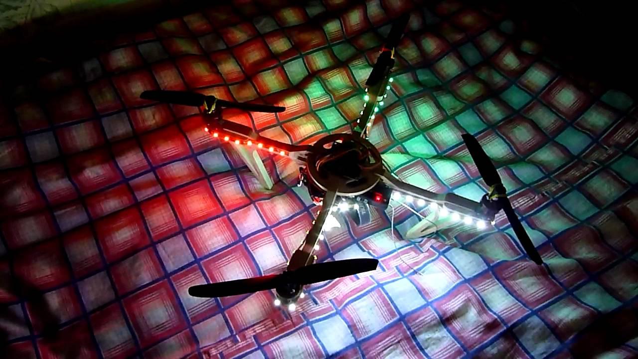 Светодиоды на квадрокоптер: делаем подсветку своими руками