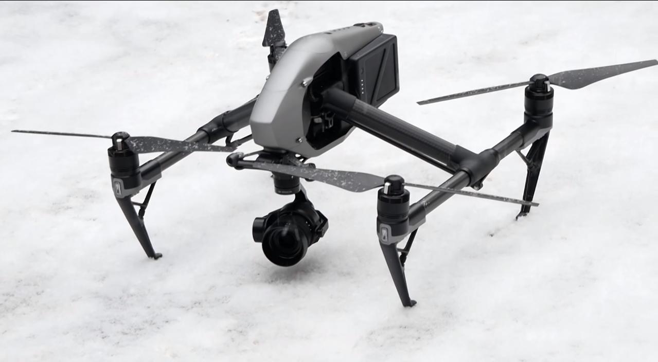 Квадрокоптер DJI Inspire 2: обзор, цена, характеристики, камера