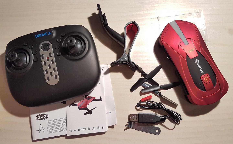 Квадрокоптер Eachine E52: обзор, цена, характеристики, отзывы