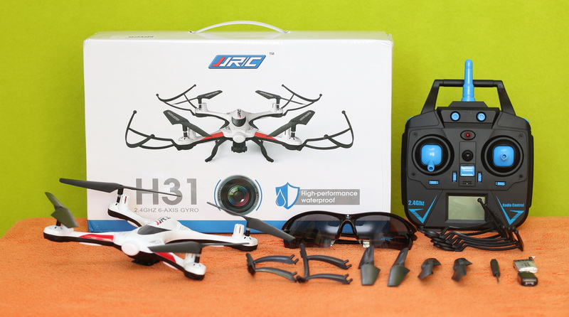 Комплектация дрона JJRC H31