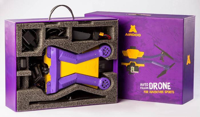 AirDog в коробке